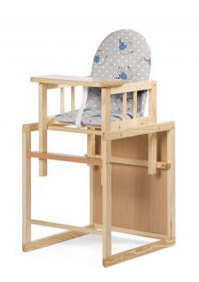 Childhome Hochstuhl Stuhl und Tisch Kombi
