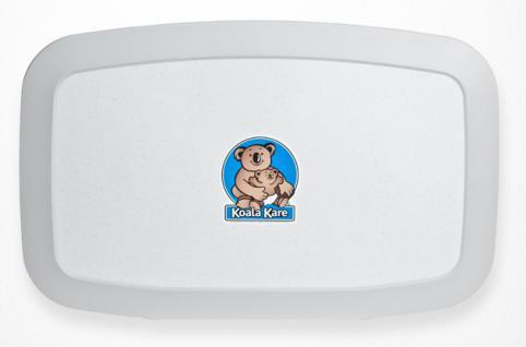 NEUE Koala Wickelstation KB-200 Horizontal Weiß-Granit MICROBAN® Hygieneschutz