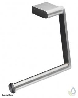Proox® ONE pure PU-380 einfacher WC Rollenhalter aus Edelstahl matt gebürstet
