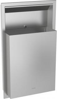 Franke Abfallbehälter RODX605E 23L aus Chromnickelstahl zur Unterputzmontage