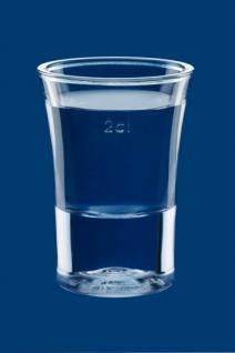 Schnapsglas 2cl SAN glasklar - Kunststoff