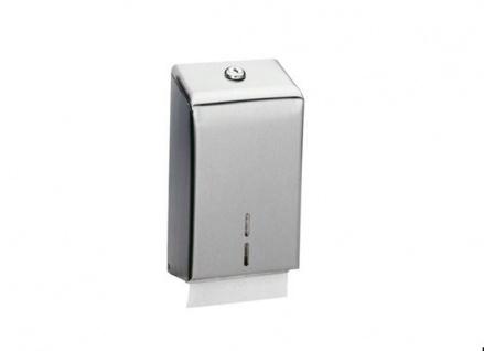 Bobrick B-2721 WC-Papierspender für gefaltete Einzelblätter abschließbar