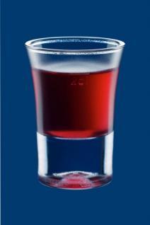 Schnapsglas 2cl SAN gefrostet - Kunststoff