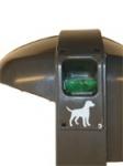 Abfallsammler Cibeles, 50 Liter, mit Spender für Hundenkottüten