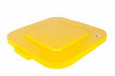 RUBBERMAID Deckel mit Schnappverschluss für Brute Eckig aus Polyetylen