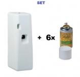 SET Spray Spender Maxi MF Insekten Sprayspender + 6x Insektizid Fly Out 250ml