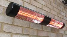 Heatlight großer Infrarot Heizstrahler aus Aluminium 3000W für den Außenbereich