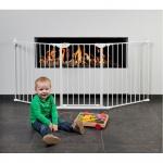 Childhome Herd Gitter XL + Tür weiß 3 x 60 cm