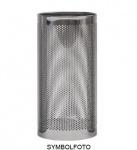 Graepel G-Line Pro Schirmständer FORATO aus Edelstahl 1.4016 schwarz lackiert