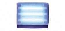 Genus® Optica JET Translucent Insektenvernichter IP65 2 x 15 Watt Wandmontage