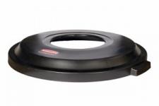 RUBBERMAID Atrium™(TM) Kunststoffdeckel für Brute RI000086 Farbe schwarz