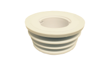 S-Uridan 100mm Adapter - komplett Set für Wasserlose Urinale