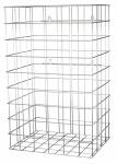 MediQo-line Gitterbox aus Edelstahl 60 Liter