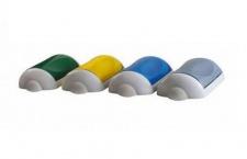 Marplast 4x Normaler Klappdeckel Kunststoff für Abfalleimer MP742 - Multicolor