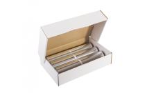 Haushalts Alufolie Küche - Karton mit 3 Rollen - 200m lfm, Breite 45cm