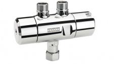 Franke Thermostat zur Warmwasserversorgung von Waschtischarmaturen aus Messing