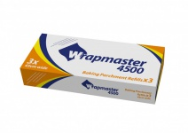 Wrapmaster Backpapier 4500 besonders geeignet für Bäckerei- und Gastronomiebereiche