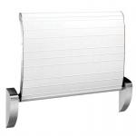 Dan Dryer hochklappbarer Sicherheitswickeltisch mit Gurt zur Wandmontage