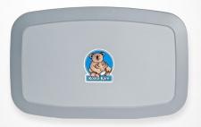 Horizontale Koala Wickelstation KB-200-01Horizontal Grau MICROBAN® Hygieneschutz