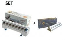SET Effizienter und robuster Wrapmaster-Spender 4500 und Alufolie 4500