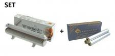 SET Effizienter und robuster Wrapmaster-Spender 1000 und Alufolie 1000