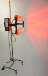 Heatlight Infrarot Standlacktrockner 2000 Watt mit Abstand- und Temperaturregler