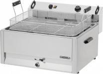 Casselin Gebäck-Fritteuse 30l aus Edelstahl 15000 Watt mit Sicherheitsthermostat