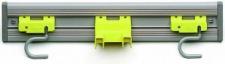 RUBBERMAID Wandorganisator/Werkzeughalter Grau/Gelb für BRUTE® Abfalleimer FG264300