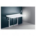 Pressalit hochklappbarer Wickeltisch zur Wandmontage, mit Elektromotor, max. 75kg