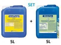 Set - Mikrobac food 5 L Aldehydfreier + Korsolex med AF 5 L