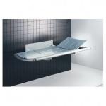 Pressalit Dusch- und Pflegeliege 3000 Festmontage, 1300mm oder 1800mm, max. 200kg