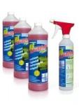 URIMAT MB- Aktiv Reiniger Kalkex Kombipack: 3 x 1 Liter Konzentrat + 1 Sprühflasche (leer)