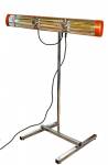 Heatlight mobiler Farb- Lacktrockner - Infrarot 2000W - Chrom Ständer inklusive