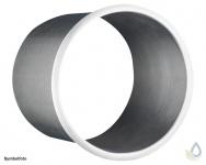 Proox® ONE pure PU-280 hochwertige Edelstahl Abfall-Abwurfhülse Waschtischeinbau