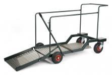 Transportwagen mit 4 Luftreifen