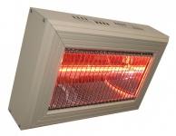 Heatlight Quartz Heizer aus Aluminium in verschied. Größen für den Innenbereich