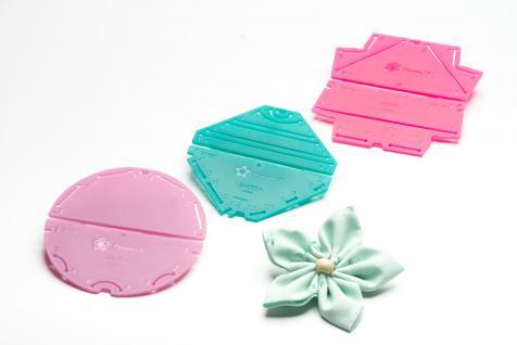 Kanzashi-Blumenschablonen-Set