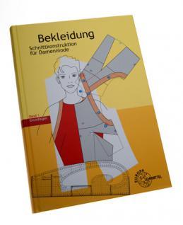 Buch Schnittkonstruktion für Damenmode Bekleidungstechnik