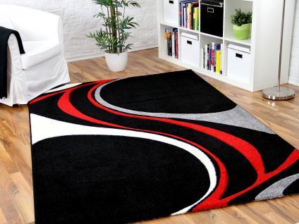 teppich schwarz rot online bestellen bei yatego. Black Bedroom Furniture Sets. Home Design Ideas