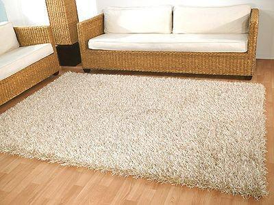 hochflor teppich creme online bestellen bei yatego. Black Bedroom Furniture Sets. Home Design Ideas