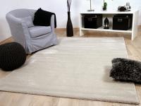 Luxus Soft-Velours Teppich Gala Beige