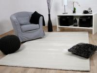 Luxus Soft-Velours Teppich Gala Creme