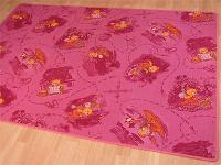Kinder Spiel Teppich Rosa Bär - ABVERKAUF