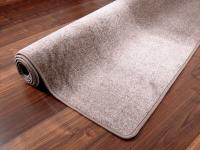 Edel Velours Teppich Pearl Taupe - ABVERKAUF