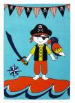 Kinder Spiel Teppich Paradiso Pirat in 3 Größen