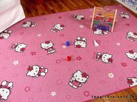 Spiel Kinderteppich Rosa Pink Hello Kitty in 24 Größen