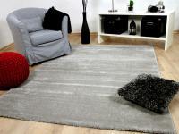 Luxus Soft-Velours Teppich Gala Grau