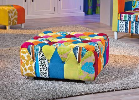 patchwork hocker g nstig sicher kaufen bei yatego. Black Bedroom Furniture Sets. Home Design Ideas