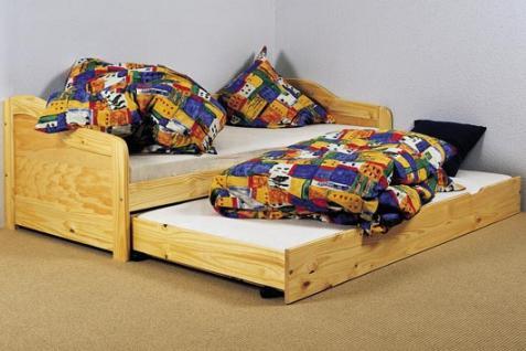 kinderbett bett 2 lattenroste massivholz natur 2 gr en lore kaufen bei eh m bel. Black Bedroom Furniture Sets. Home Design Ideas