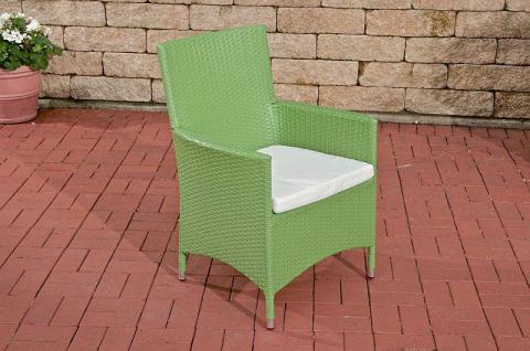 Stuhl Gartenstuhl Lounge Kissen Rattan 6 Farben CL-Josy